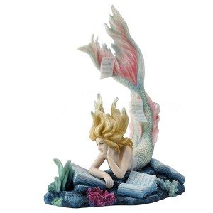 Lost Books Mermaid figurine