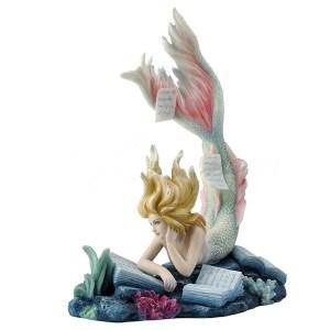 Lost Books Mermaid figurine