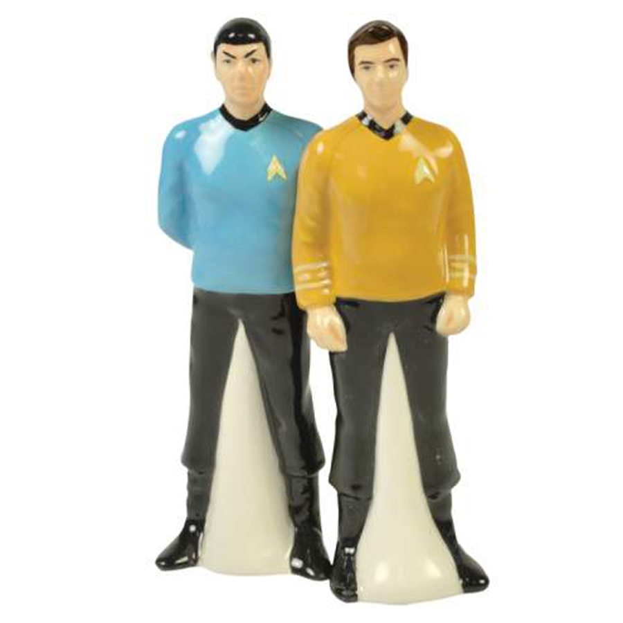 Kirk and Spock Salt and Pepper Shakers from Star Trek
