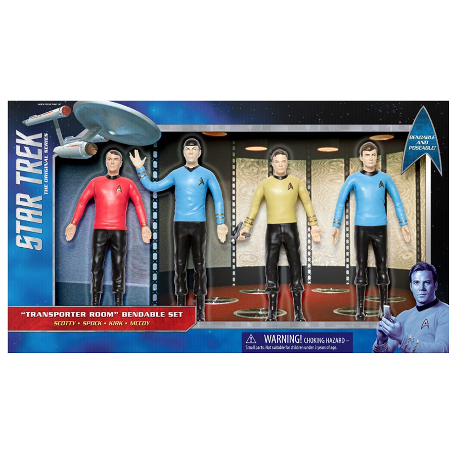 Star Trek bendable figurine set