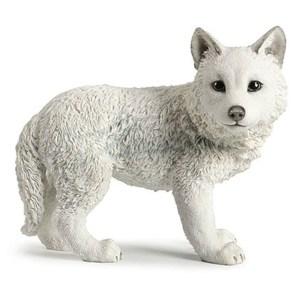 White Wolf Cub figurine