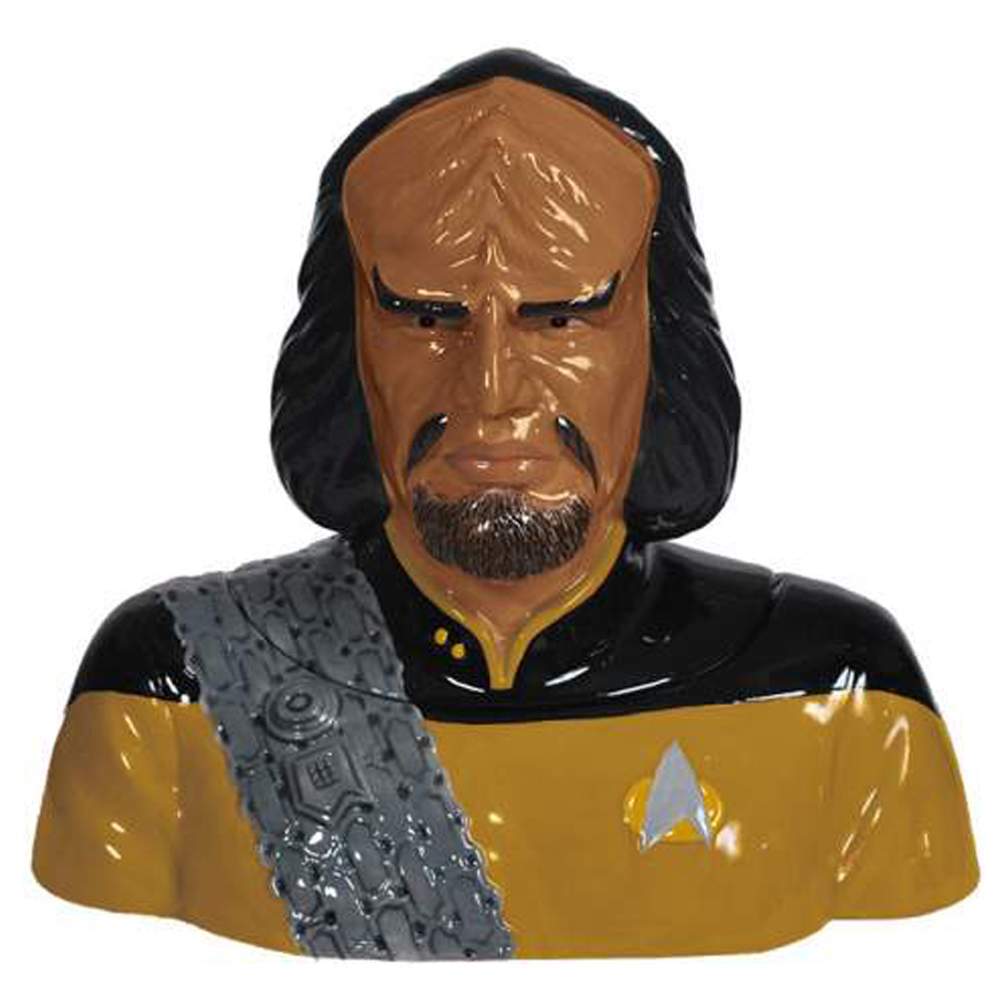 Worf Cookie Jar from Star Trek