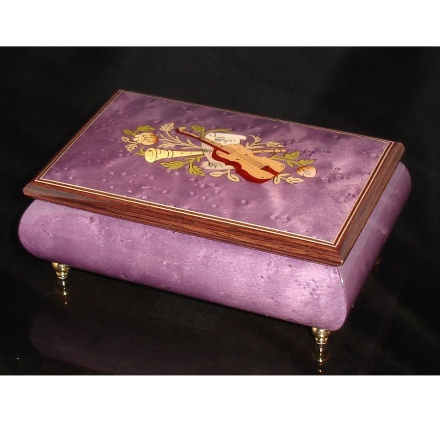 Italian Jewelry Box Plum 04CVM