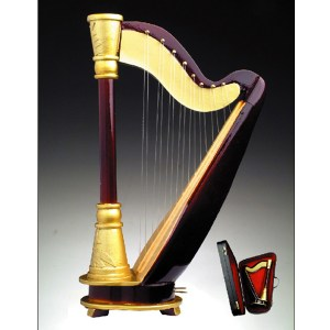 Miniature Harp H19-H