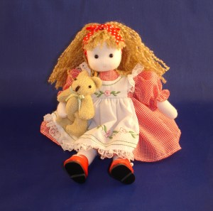 Goldilocks musical doll