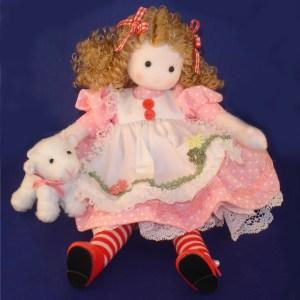 Heidi musical doll