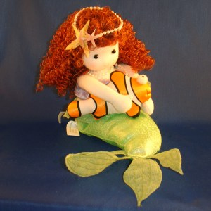 Little Mermaid musical doll