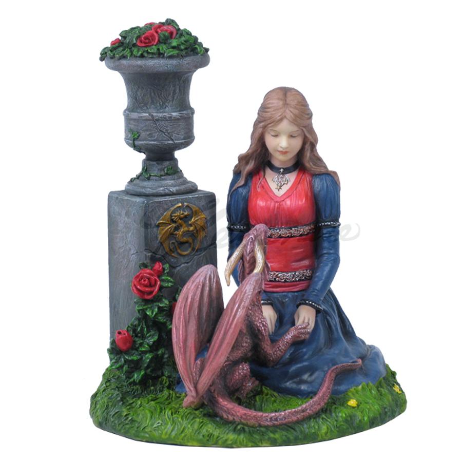Maiden and Dragon - Secret Garden