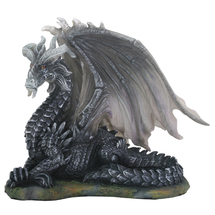 Dark Dragon sitting