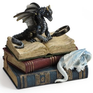 Dragon Scholars Trinket Box