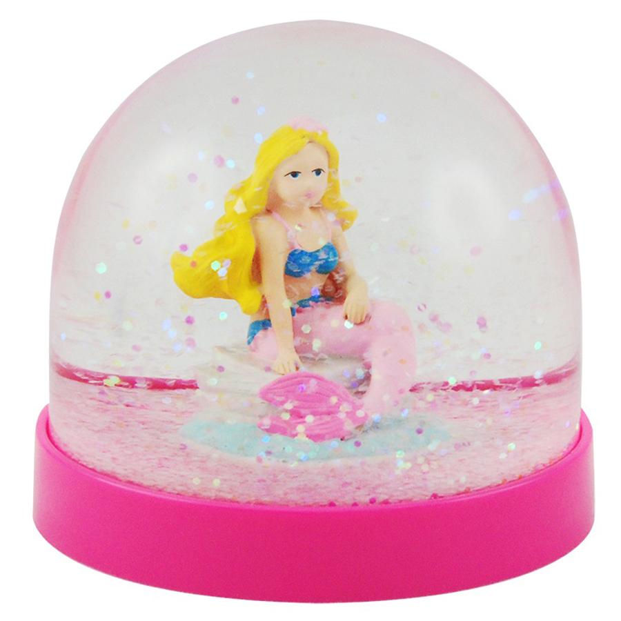 Mermaid Acrylic Snow Globe