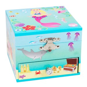 Mystic Mermaid Musical Jewelry Box -Small