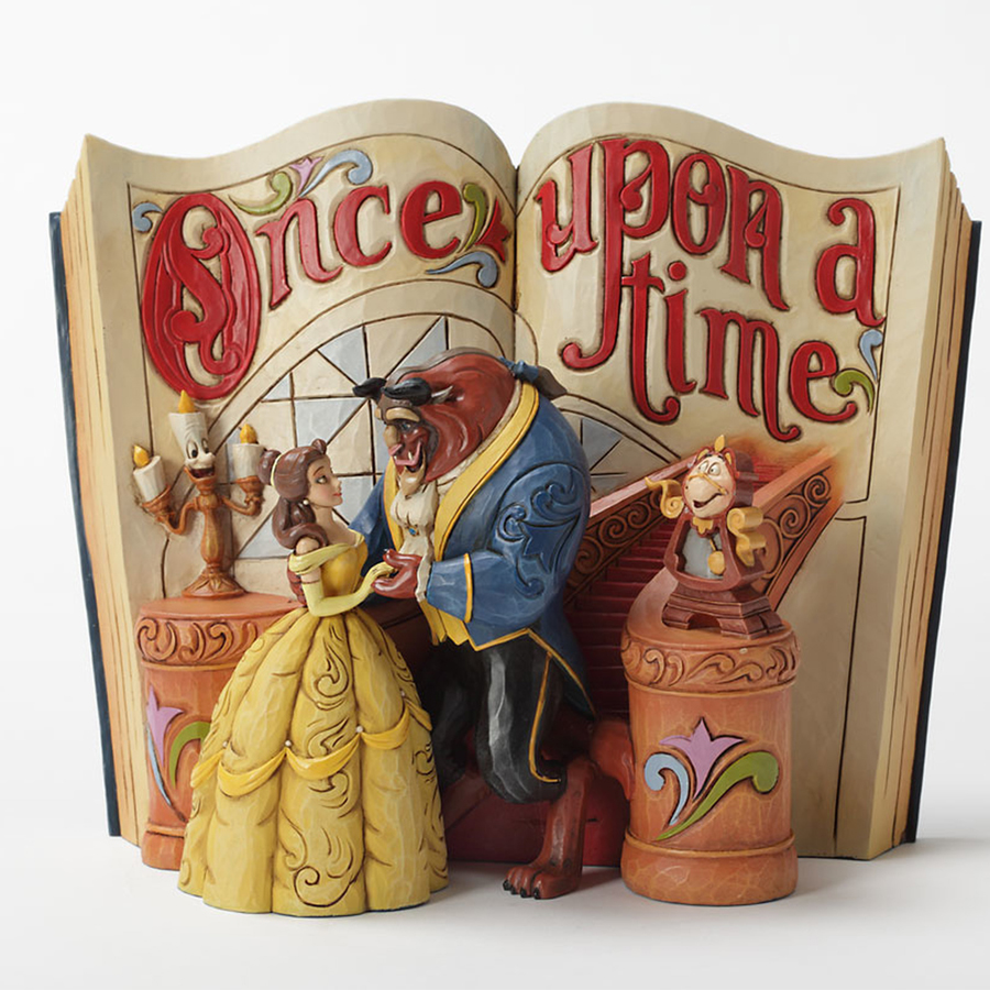 Beauty and the Beast Storybook Jim Shore