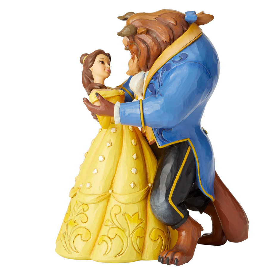 Beauty and the Beast Belle and Beast Dancing Jim Shore