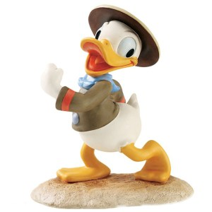 Donald Happy Camper figurine by Disney Classics