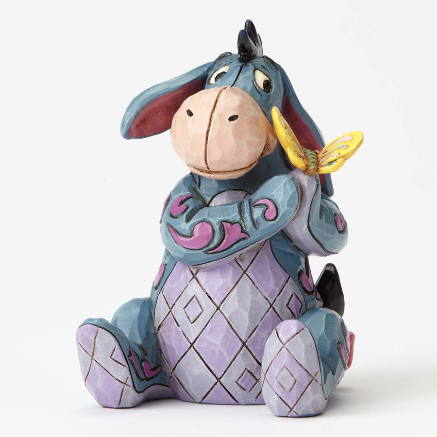 Eeyore with Butterfly Jim Shore front view