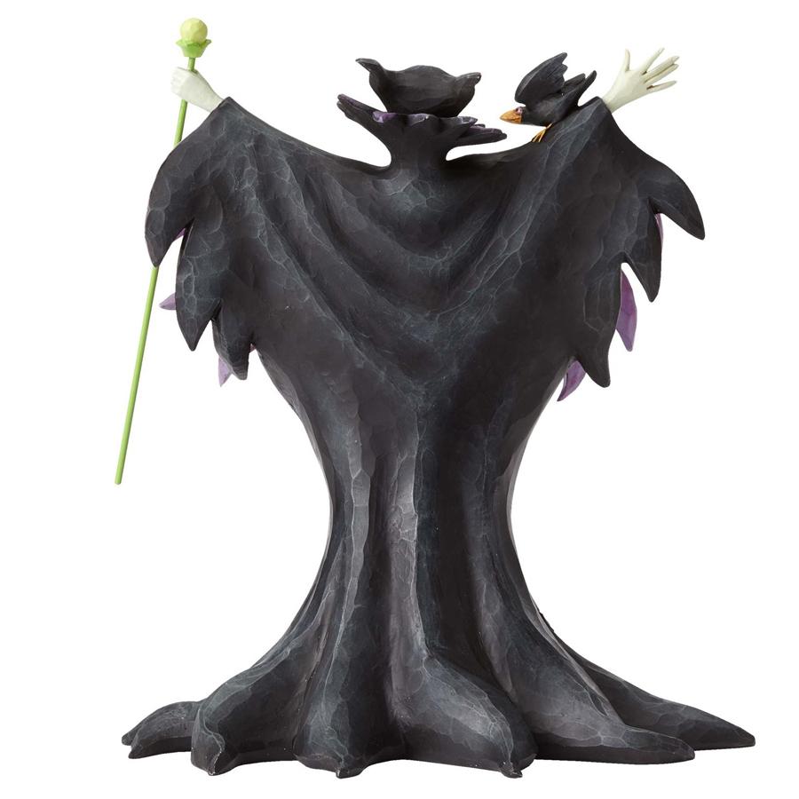 Maleficent Jim Shore back-view
