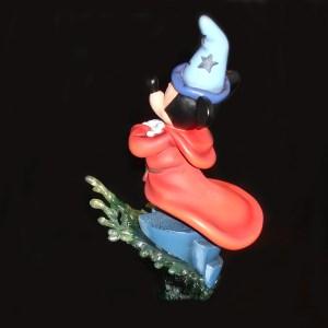 Mickey Sorcerer figurine by Grand Jester back left side