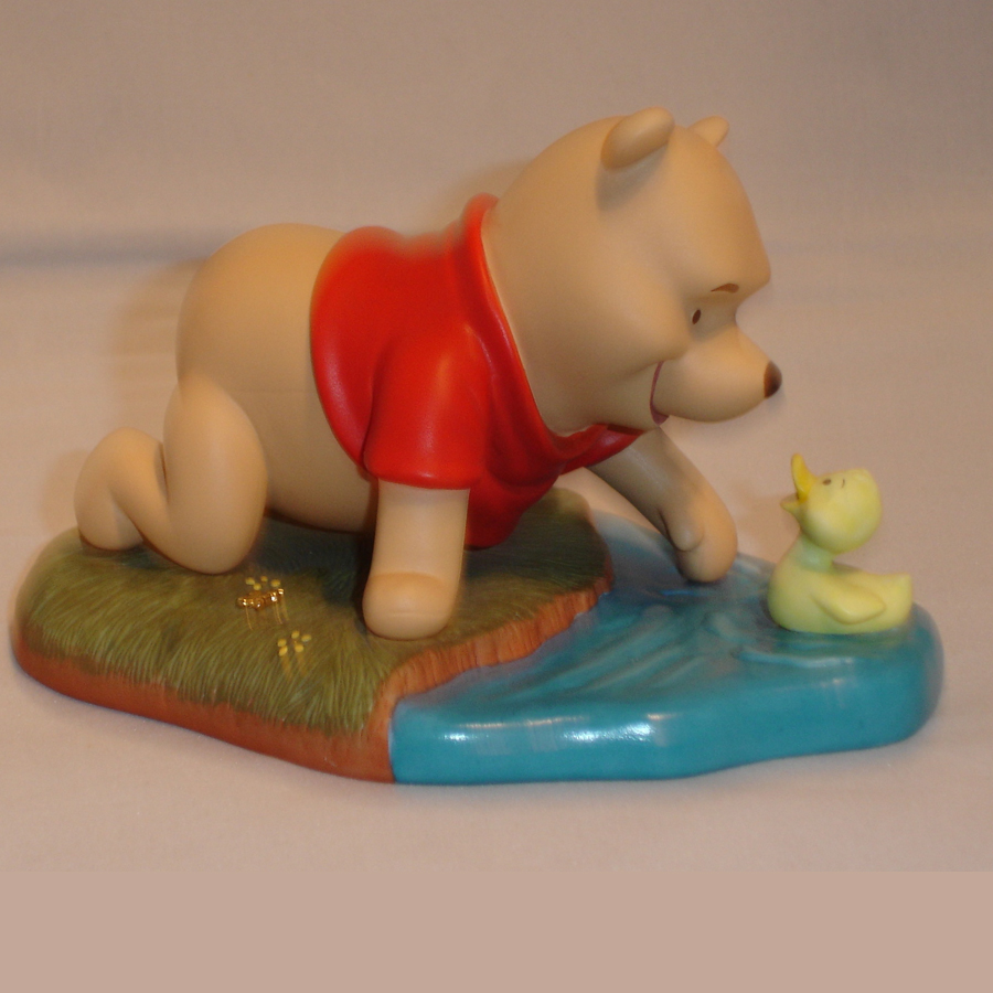 Winnie the Pooh with Duck