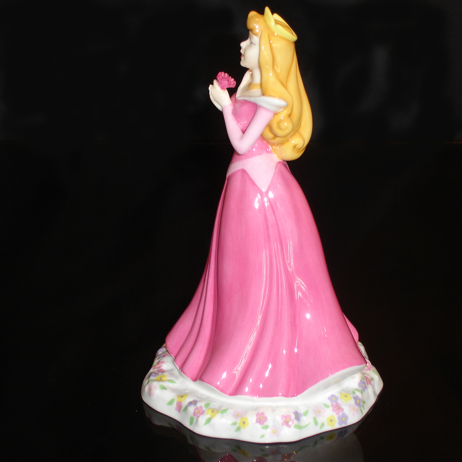 Princess Aurora Royal Doulton side-view