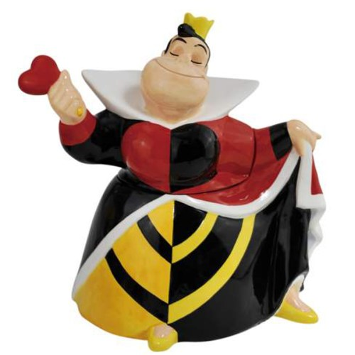 Queen of Hearts Cookie Jar