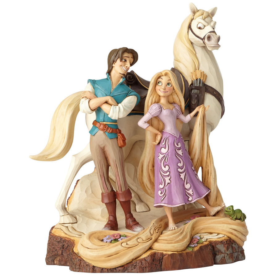 Rapunzel Carved by Heart