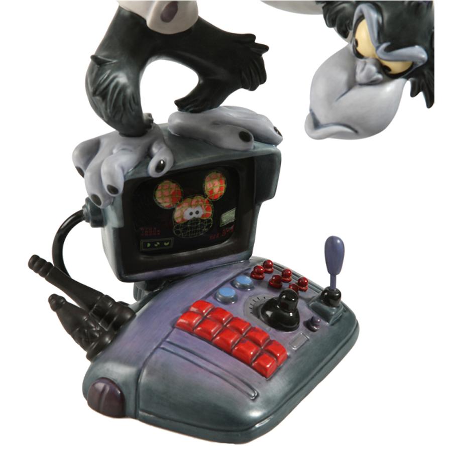 Disney's Runaway Brain Mad Monkey close up