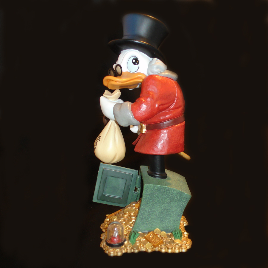 Scrooge McDuck Grand Jester left side-view