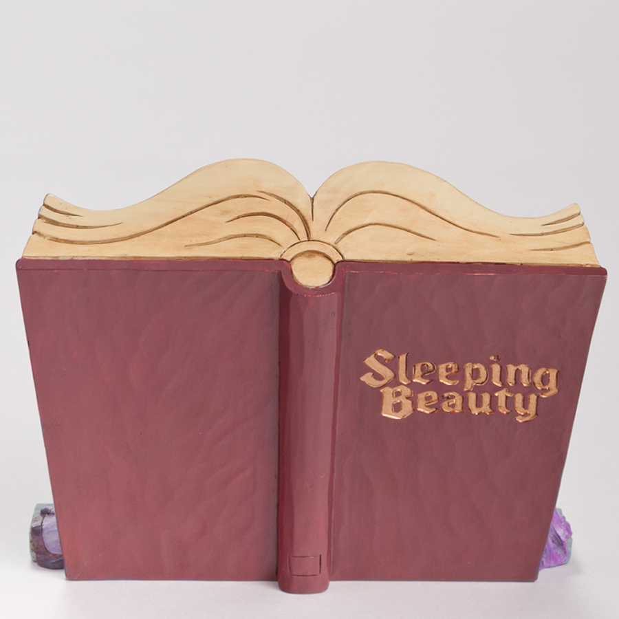 Sleeping Beauty Storybook back-view