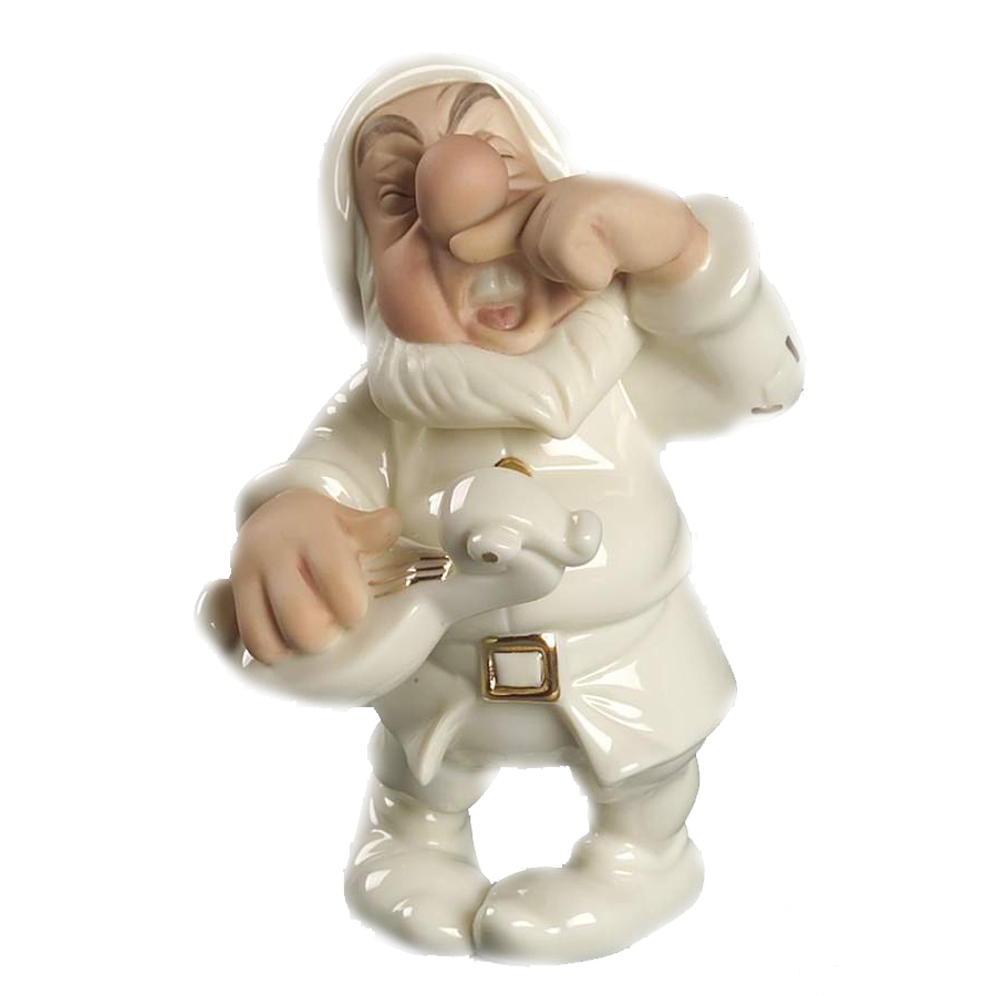 Sneezy Serenade for Snow White by Lenox