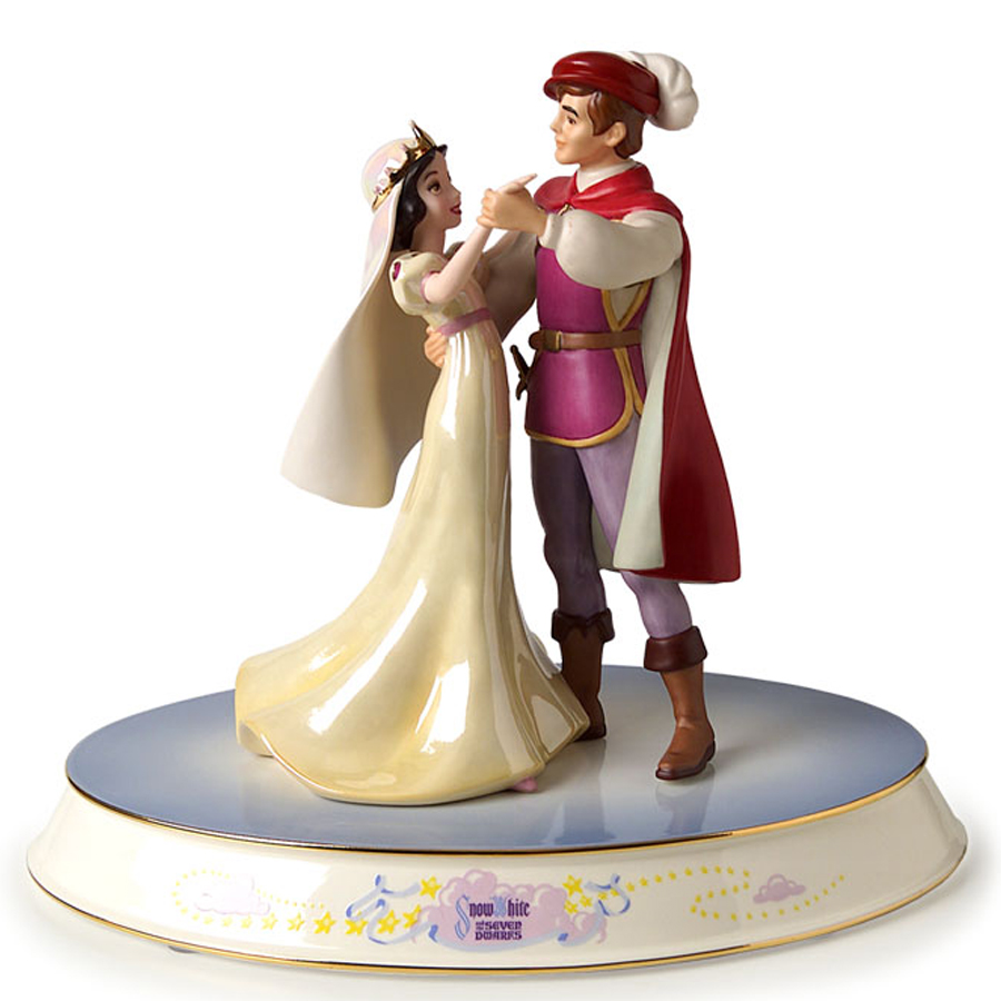 Snow White Plate with figurine