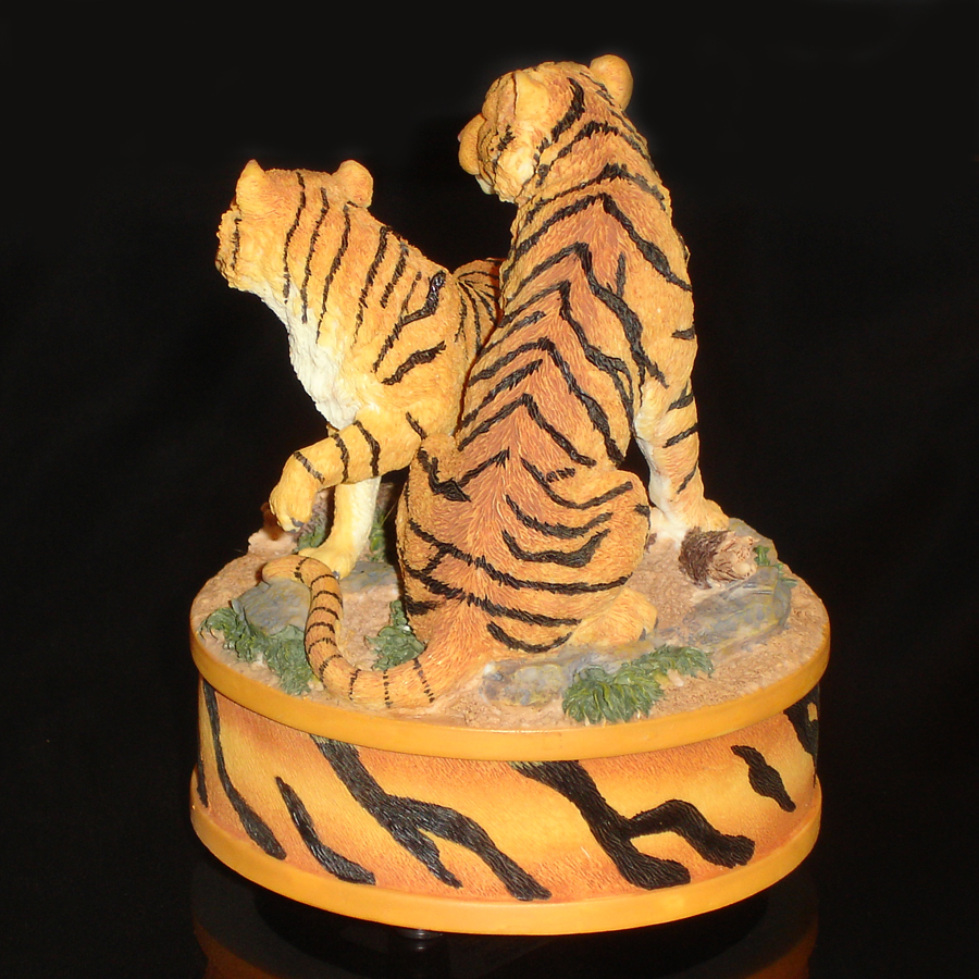 Tigers Music Box back angle view