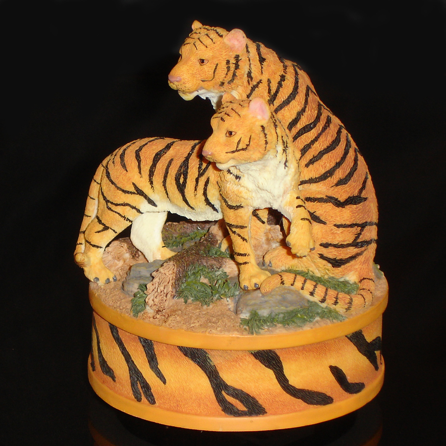 Tigers Music Box front angle view