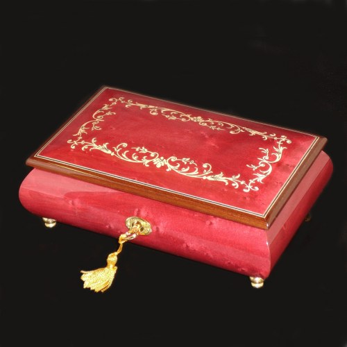 -Musical-Jewelry-Box-02A-Wine-Red-