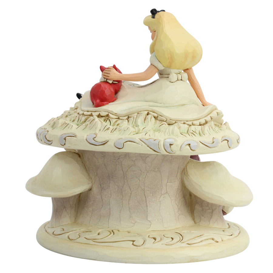 Alice-in-Wonderland-White-Woodland-figurine-back-view