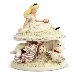 Alice-in-Wonderland-White-Woodland-figurine-Jim-Shore