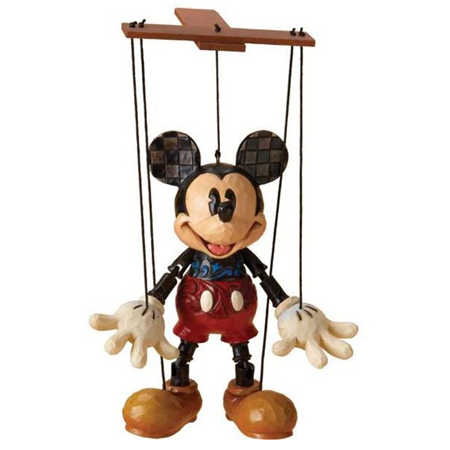 Mickey Mouse marionette by Jim Shore