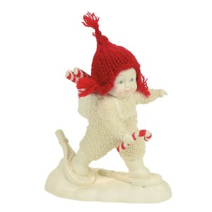 Snow Baby Snowshoe Deliveries figurine