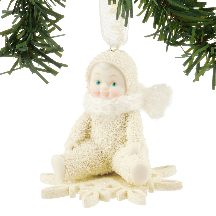 Snowbaby-Drifting-on-a-snowflake-ornament