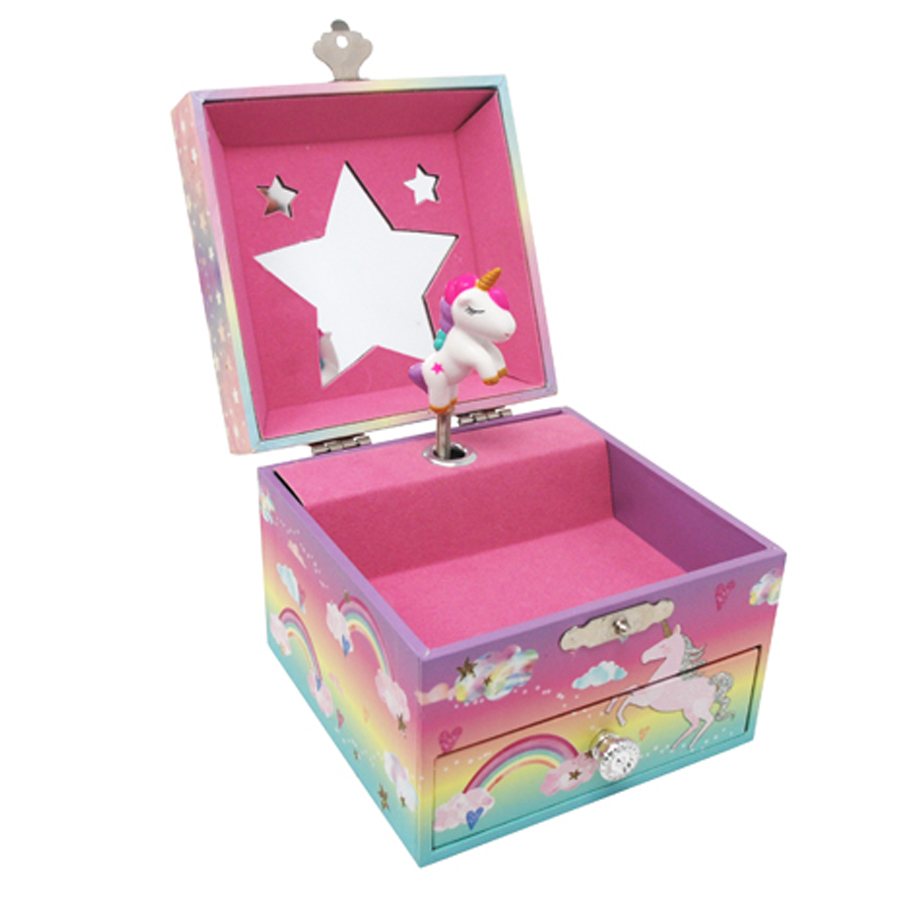 Cotton-Candy-Unicorn-Musical-Jewelry-Box-small-open