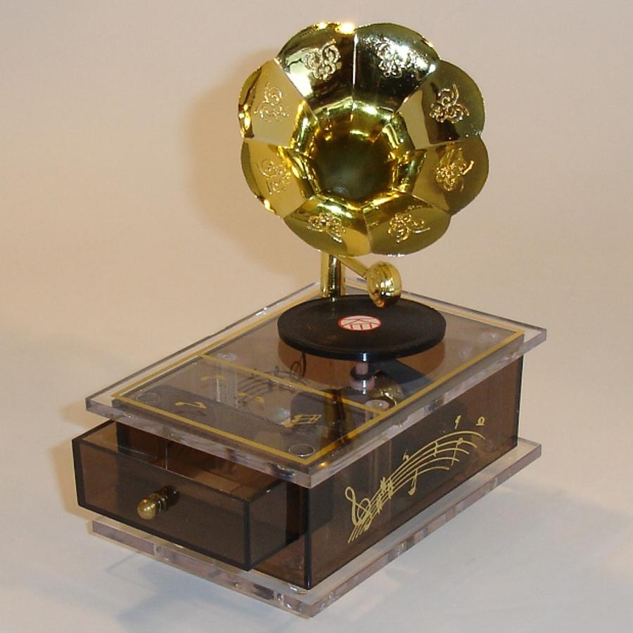 Miniature Gramophone Music Box