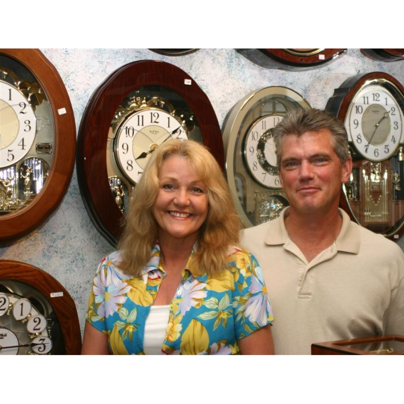 Mark-and-Lisa-in-the-Clock-Room