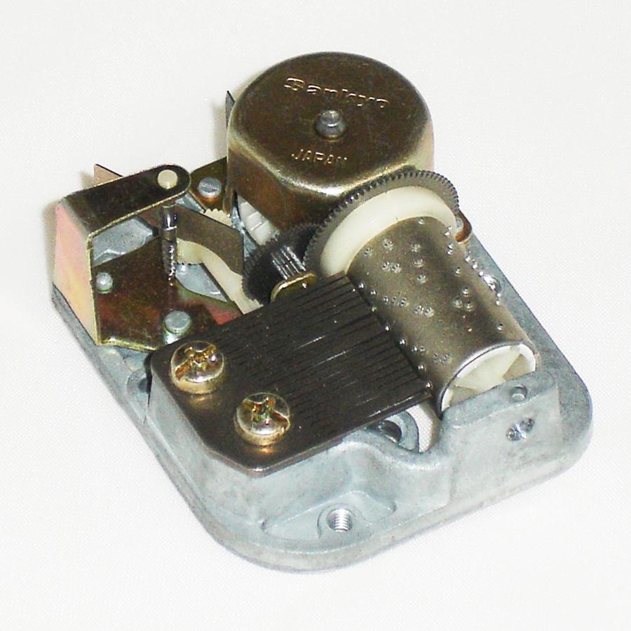 Silver-Sankyo-Musical-Mechanism