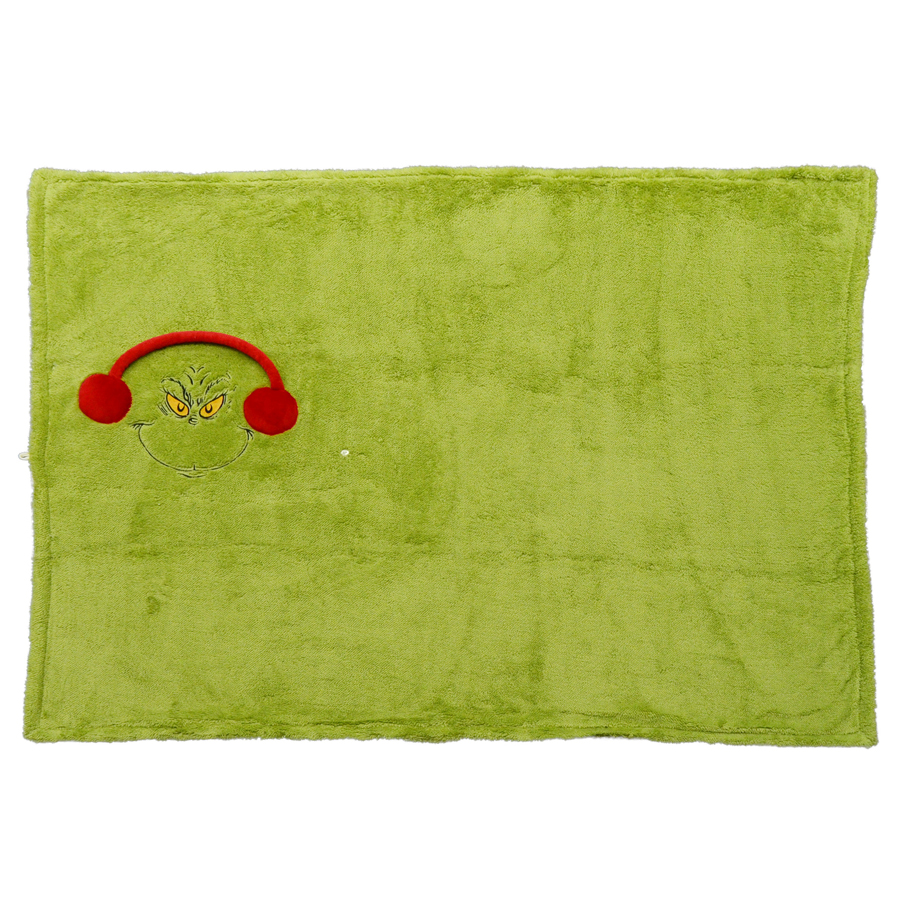 Grinch-Snow-throw-Blanket-open