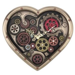 Heart-Shaped-Steampunk-Clock