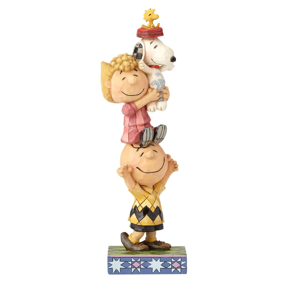 Jim-Shore-Peanuts-Stacked-front-view