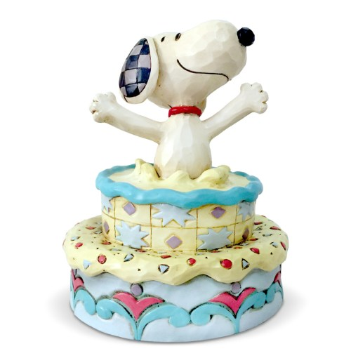 Jim-Shore-Snoopy-Birthday-Cake