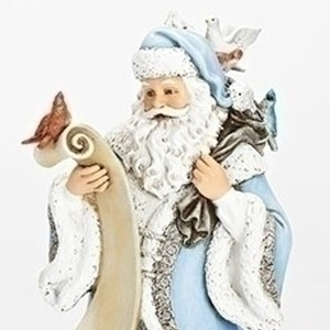 Blue-Santa-with-List-Close-Up