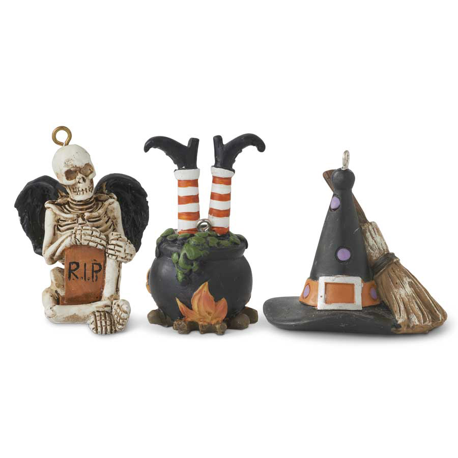 Halloween-Ornament-Set