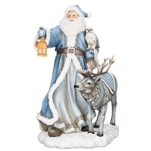 Large-Blue-Santa-Deer